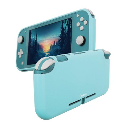 Insten Silicone Case for Nintendo Switch Lite - Shockproof Protective Cover Accessories with Smooth Grip, Sky Blue