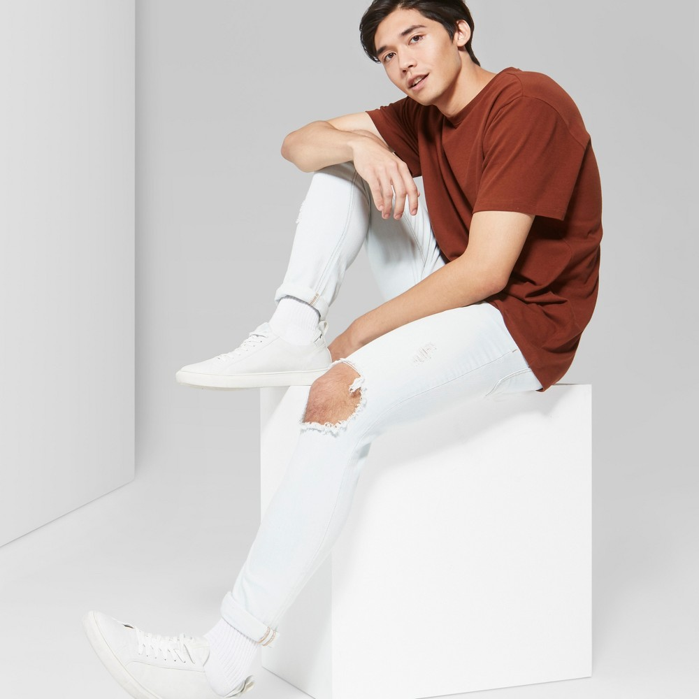 Men's Short Sleeve Boxy T-Shirt - Original Use Brown L