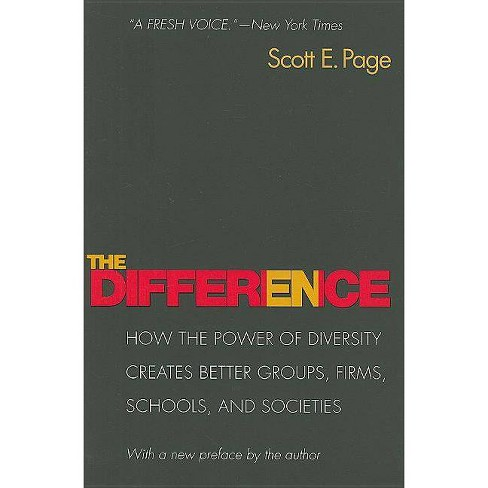 The Difference - by  Scott Page (Paperback) - image 1 of 1