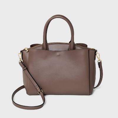 Dome Satchel Handbag - A New Day™