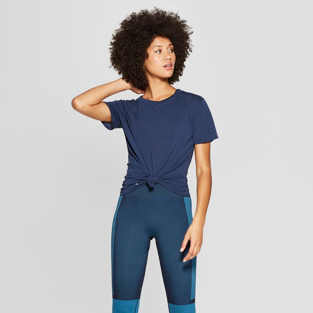 Women's Mesh Back T-Shirt - JoyLab Navy (Blue) Xxl