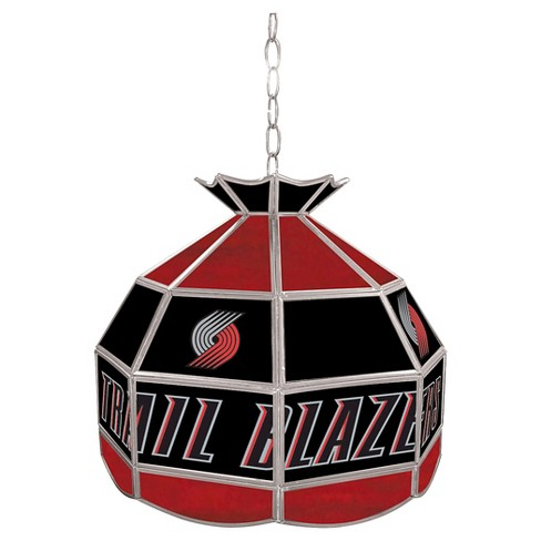 Portland Trail Blazers Tiffany Style Lamp - 16 inch - image 1 of 1