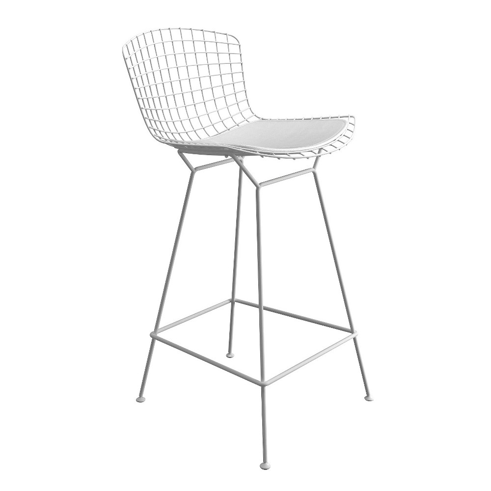 Counter And Bar Stools Aeon White
