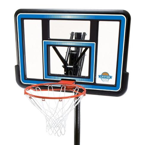 Lifetime 44 Quick Adjust Portable Basketball Hoop Target