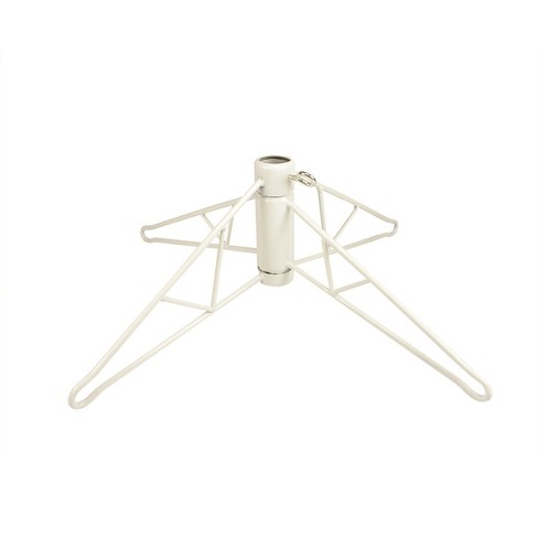 Vickerman White Metal Christmas Tree Stand For 10' - 11.5' Artificial Trees - image 1 of 1