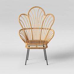 Avocet Rattan Fan Back Accent Chair - Opalhouse™