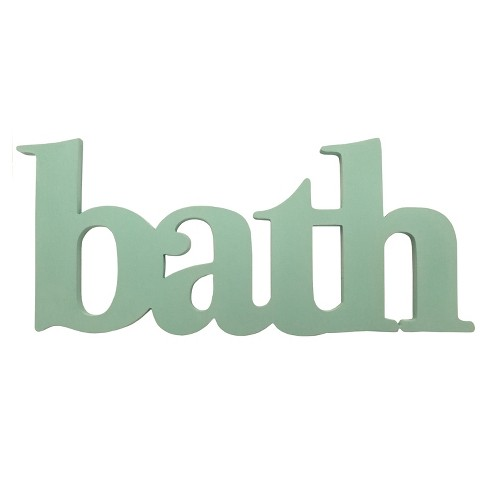 Stratton Home Decor 8 X18 Seafoam Bath Decorative Wall Art Set Sea S