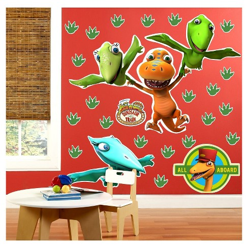 Dinosaur Train Wall Decal - image 1 of 1
