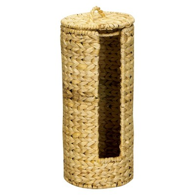 Household Essentials Banana Leaf Toilet Tissue Roll Holder Natural
