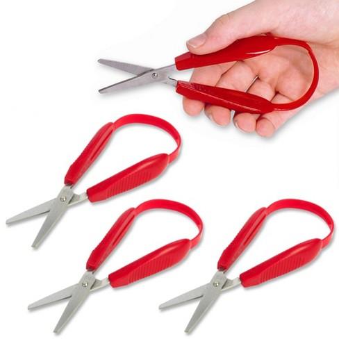 AMEP Mini Easy Grip Scissors - Red  - Set of 4 - image 1 of 3