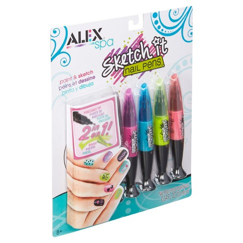 ALEX Toys Spa Hot Hues Sketch It Nail Pens - image 1 of 4