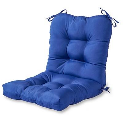 Solid Outdoor Seat/Back Chair Cushion - Kensington Garden