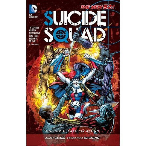 Suicide Squad Vol. 2: Basilisk Rising (the New 52) - by  Adam Glass (Paperback) - image 1 of 1