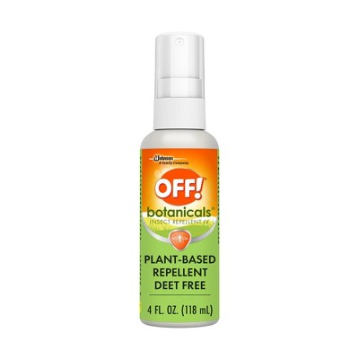 OFF! Botanicals Plant-Based DEET Free Insect Repellent IV - 4 fl oz/1ct