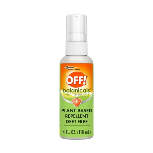 OFF! Botanicals Plant-Based DEET Free Insect Repellent IV - 4 fl oz/1ct - image 1 of 4