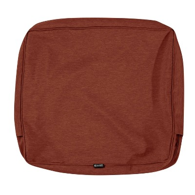 "21"" x 22"" x 4"" Montlake Water-Resistant Patio Seat Cushion Slip Cover - Classic Accessories"