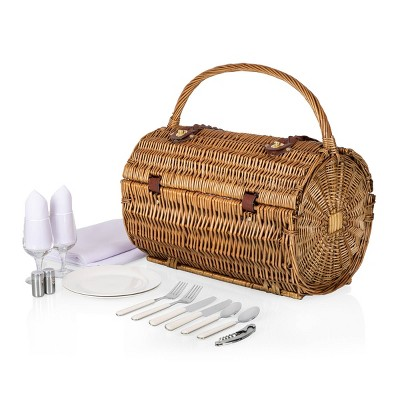 Cylinder Deluxe Picnic Basket - Picnic Time