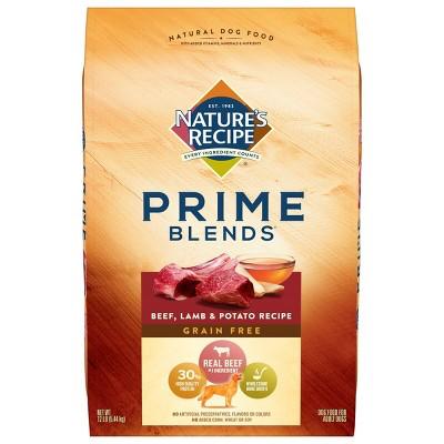 Nature's Recipe Prime Blends Grain Free Beef, Lamb & Potato Recipe Adult Dry Dog Food