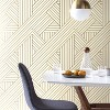 Ribbon Peel And Stick Wallpaper Gold/Ivory - Project 62™ - image 2 of 4