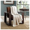 "Pearl Oyster San Juan Sherpa Throw (50 X 60"") - Eddie Bauer - image 2 of 3"