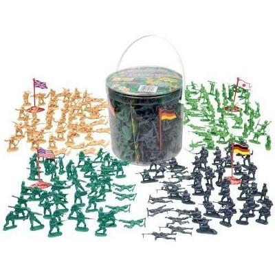 Hingfat Army Men Action Figure Toys, 202 Pieces