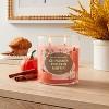 Lidded Glass Jar Cinnamon Pumpkin Muffin Candle - Opalhouse™ - image 2 of 3