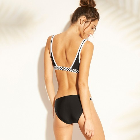 02e6481e71 Women s Scoop Elastic Bralette Bikini Top - Xhilaration™ Black   Target