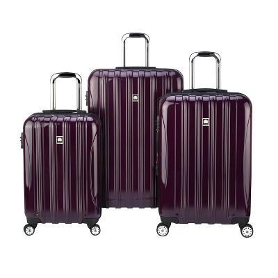 DELSEY Paris Helium Aero 3pc Hardside Luggage Set - Purple