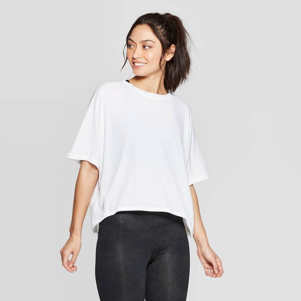 Womens Activewear Sweatshirt Joylab White S