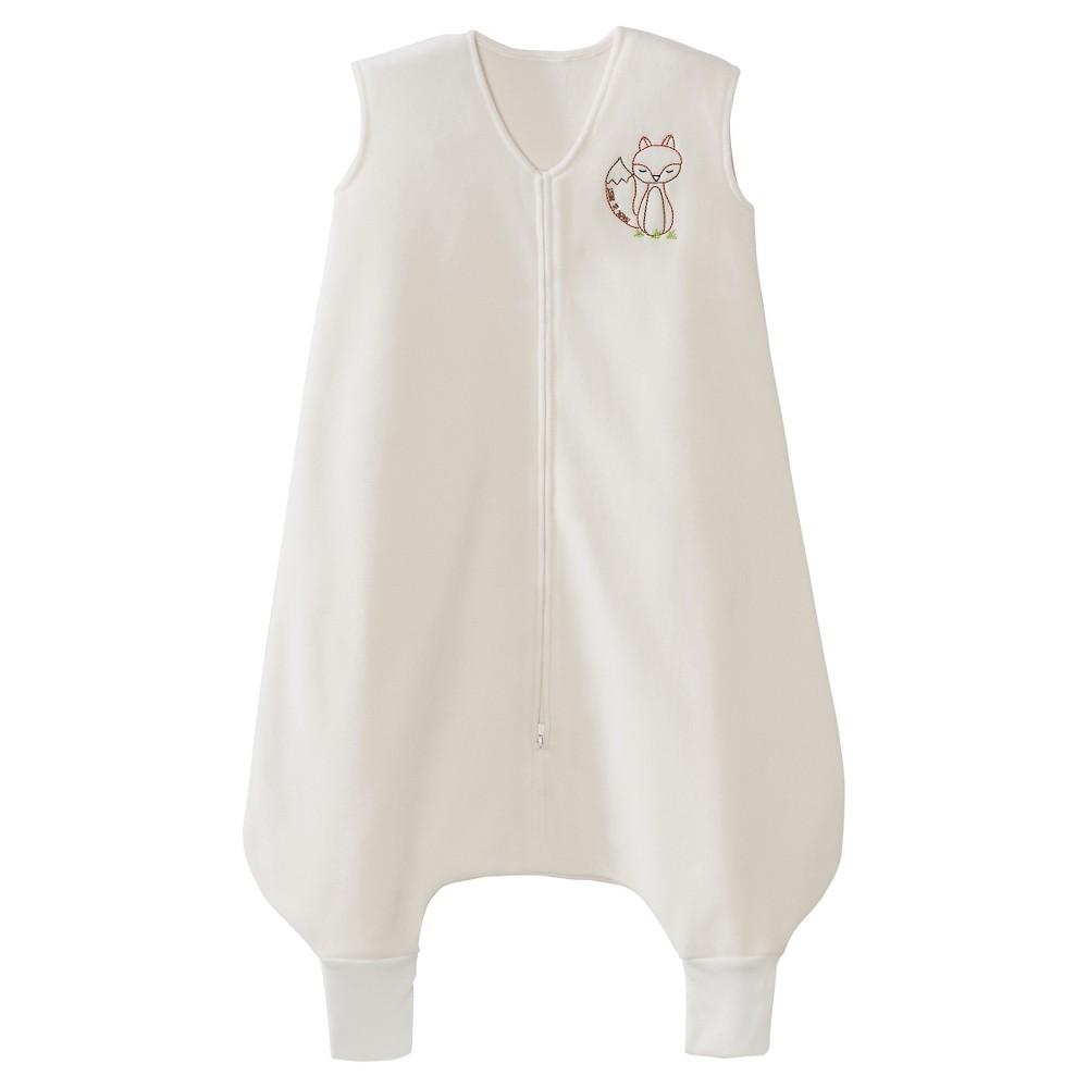 Halo SleepSack Early Walker Wearable Blanket Micro-Fleece - Cream with Fox - L, Kids Unisex, Beige