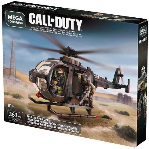 Call Of Duty Mega Construx Special Ops Copter Set Target