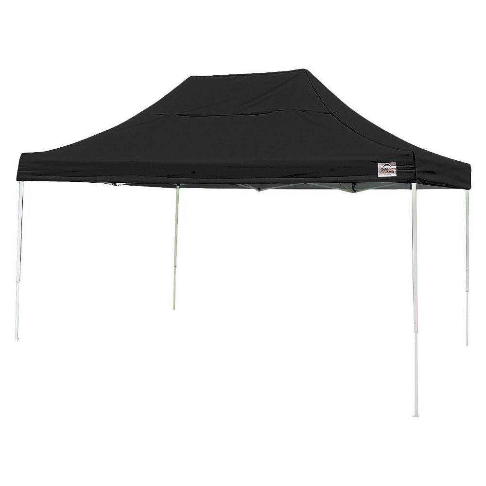 Shelter Logic 10' x 15' Pro Straight Leg Pop-Up Canopy - Black