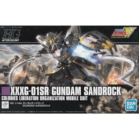 Bandai Spirits Wing HGAC #228 Gundam Sandrock HG 1/144 Model Kit - image 1 of 3