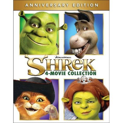 Shrek: The Whole Story (Shrek / Shrek 2 / Shrek the Third / Shrek Forever After (Blu-ray)