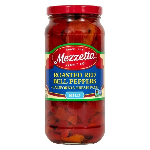 Mezzetta Roasted Red Bell Peppers - 15oz - image 1 of 4