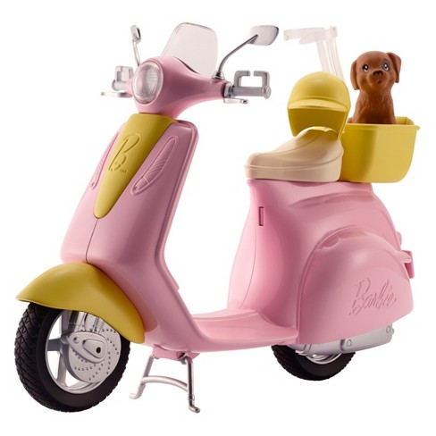 Barbie Moped Scooter Accessory with Puppy - image 1 of 5