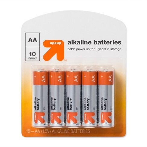 AA Batteries - 10ct - Up&Up™ - image 1 of 1