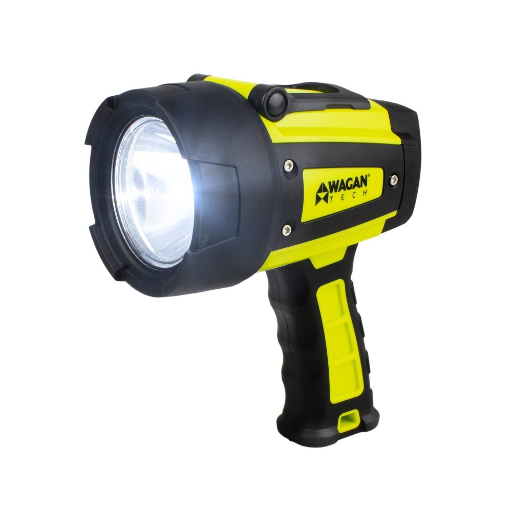 Image of Wagan Brite-Nite WR600 LED Rechargeable Waterproof Spotlight - Yellow