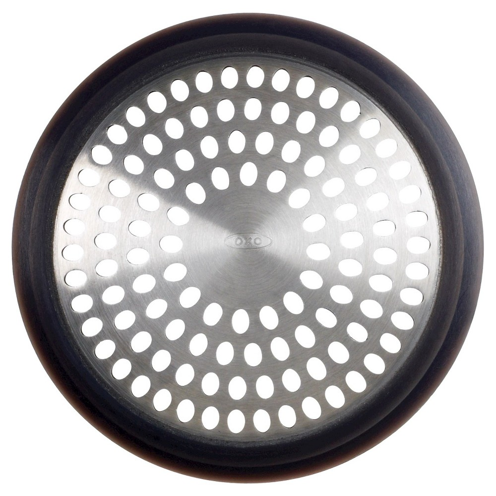Image of Bath Tub Drain Protector Gray - OXO