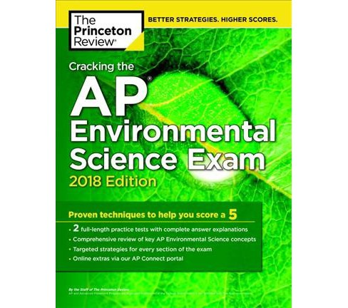 Princeton Review Cracking the AP Environmental Science Exam 2018 -  (Paperback) - image 1 of 1