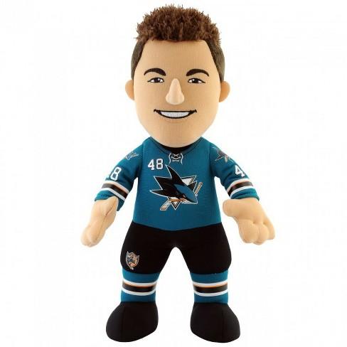 "NHL San Jose Sharks Tomas Hertl 10"" Plush Figure (Blue) - image 1 of 2"