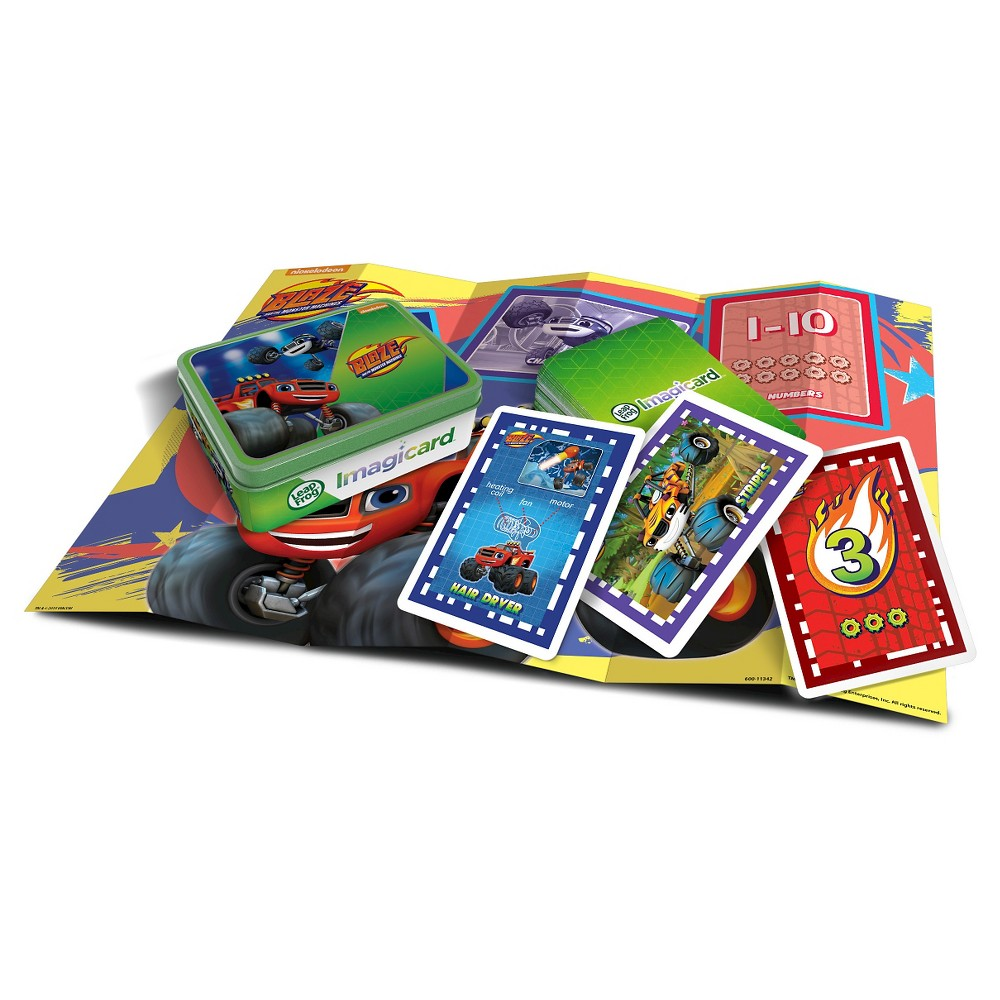 LeapFrog Blaze & The Monster Machines Imagicard Learning Game for LeapFrog Tablets