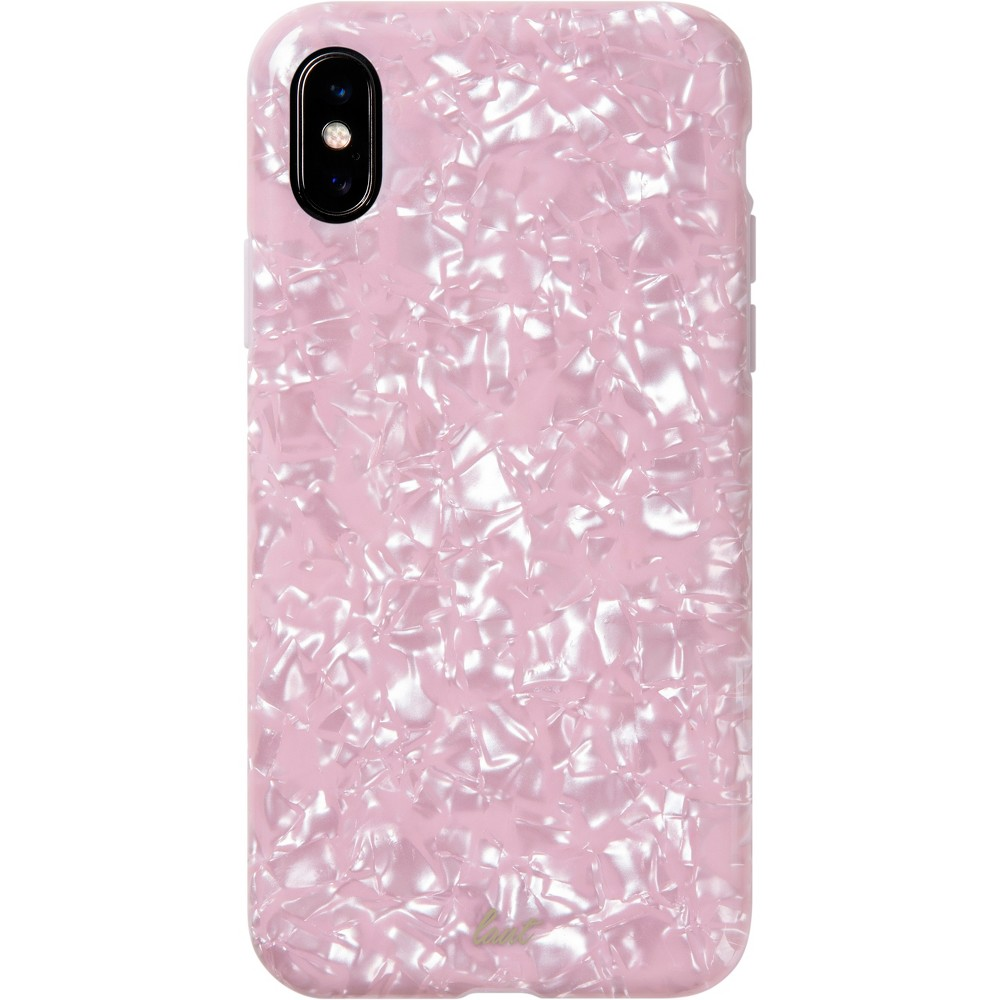 LAUT Apple iPhone X/XS Case - Pink Pearl, White