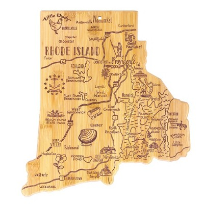 Totally Bamboo Destination Rhode Island Serving and Cutting Board