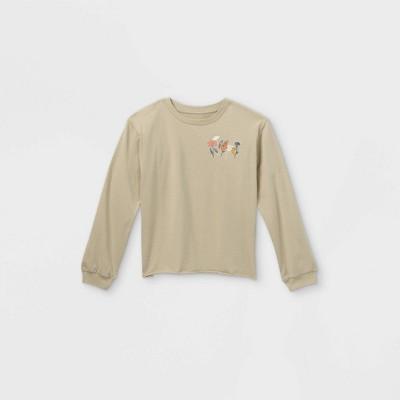 Girls' Long Sleeve Graphic T-Shirt - art class™