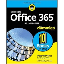 Office 365 All-In-One for Dummies - by  Peter Weverka (Paperback)