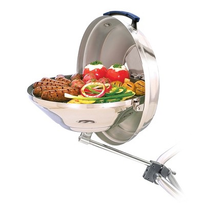 Magma Products Marine Kettle Boat BBQ Barbecue Charcoal Grill, Original Size