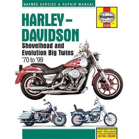 Harley-Davidson Shovelhead and Evolution Big Twins '70 to '99 - (Haynes on harley fxr fuse, harley fxr exhaust, harley fxr parts, harley fxr clutch, harley fxr speedometer, buell wiring diagram, harley fxr dimensions, harley fxr wheels, harley fxr transmission, fatboy wiring diagram, harley handle bar wiring diagrams, harley fxr seats, harley fxr engine, harley fxr frame, harley fxr headlight,