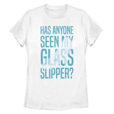 Women's Cinderella Glass Slipper T-Shirt
