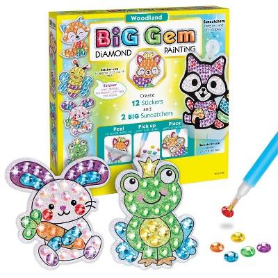 Creativity for Kids Big Gem Diamond Painting Kit - Woodland